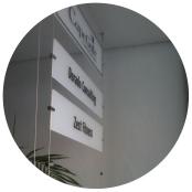 perspex signage